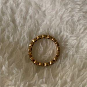 Pandora Crystal Rose staking ring in size 6